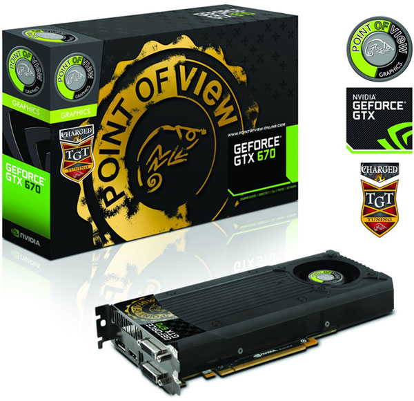 Point of View TGT Series GeForce GTX 670 Charged