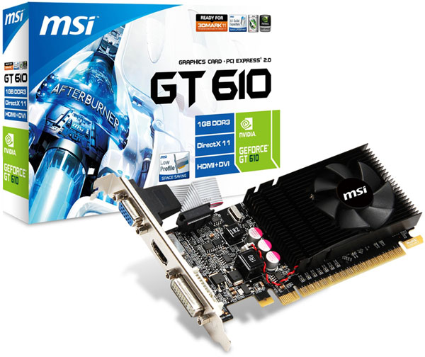 MSI N610GT-MD1GD3/LP