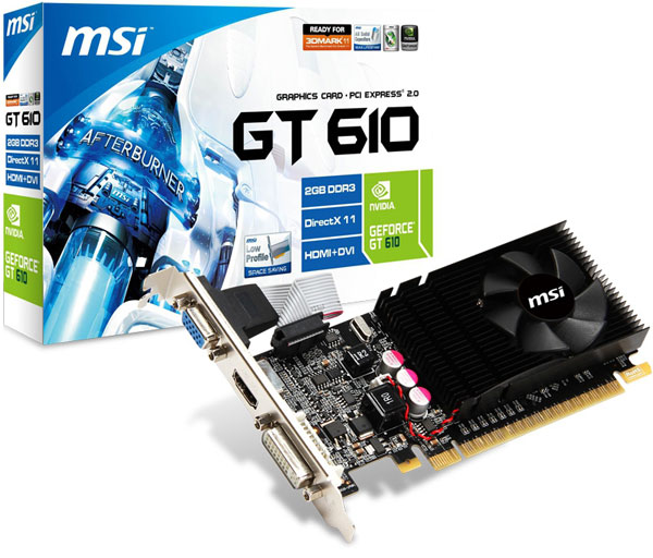 MSI N610GT-MD2GD3/LP