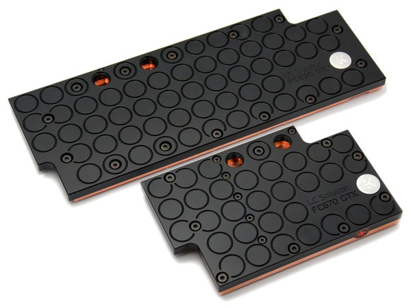 EK Water Blocks EK-FC690 GTX and EK-FC670 GTX