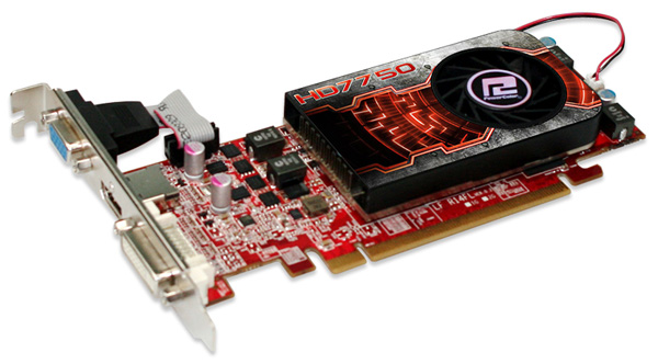 PowerColor Radeon HD 7750 1GB GDDR5 LP