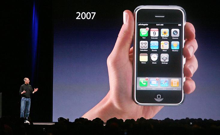 Картинки по запросу Первый айфон 2007 год