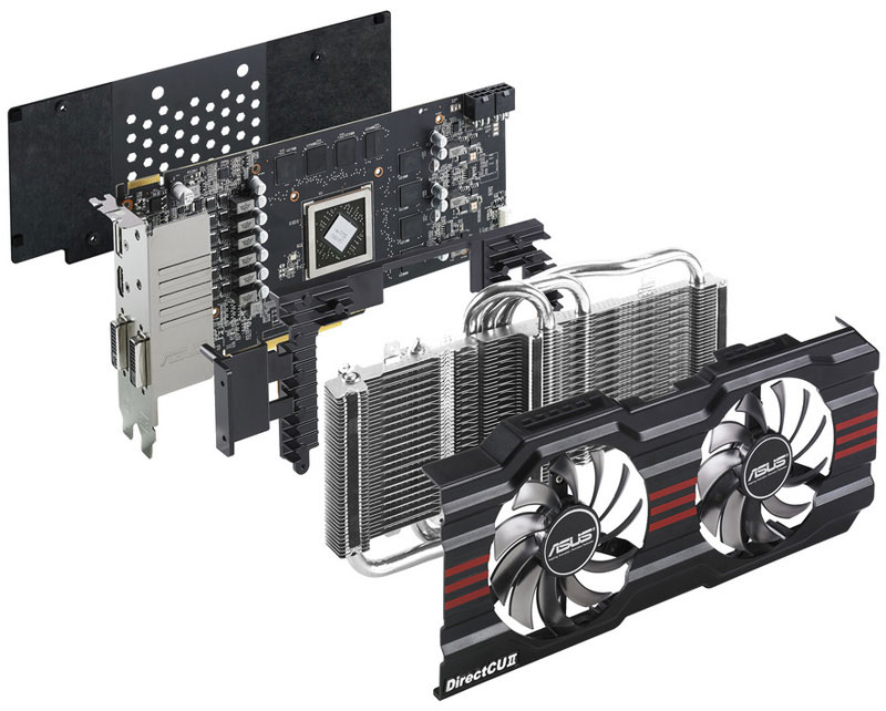 ASUS DRAGON HD7850-DC2O-2GD5
