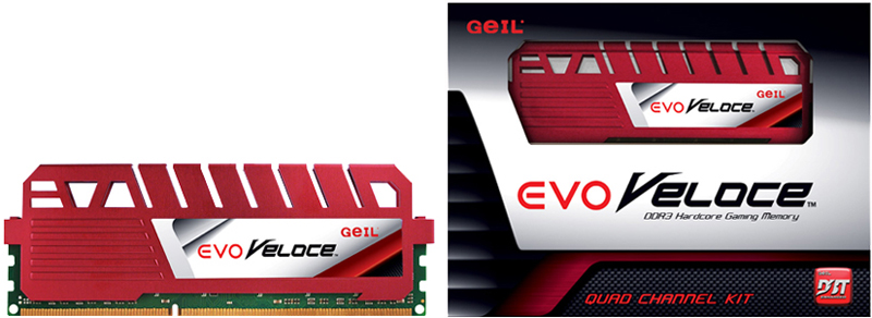 GeIL EVO Veloce DDR3 Hot-rod Red Memory Module