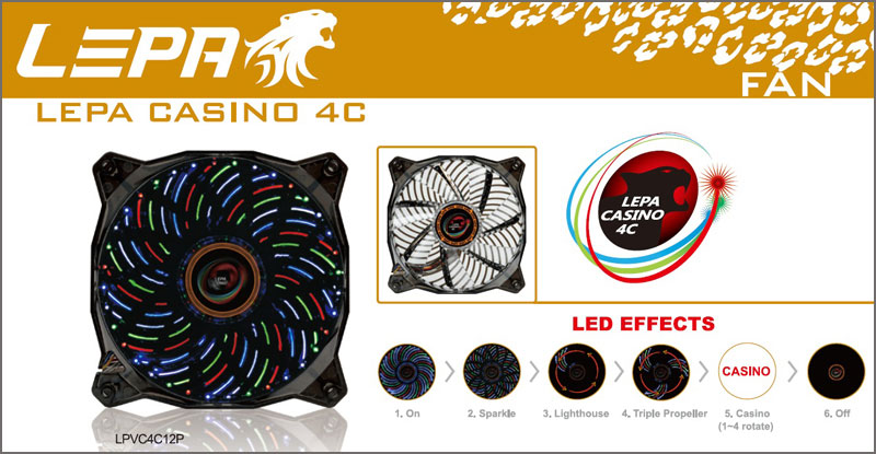 LEPA CASINO 4C Series