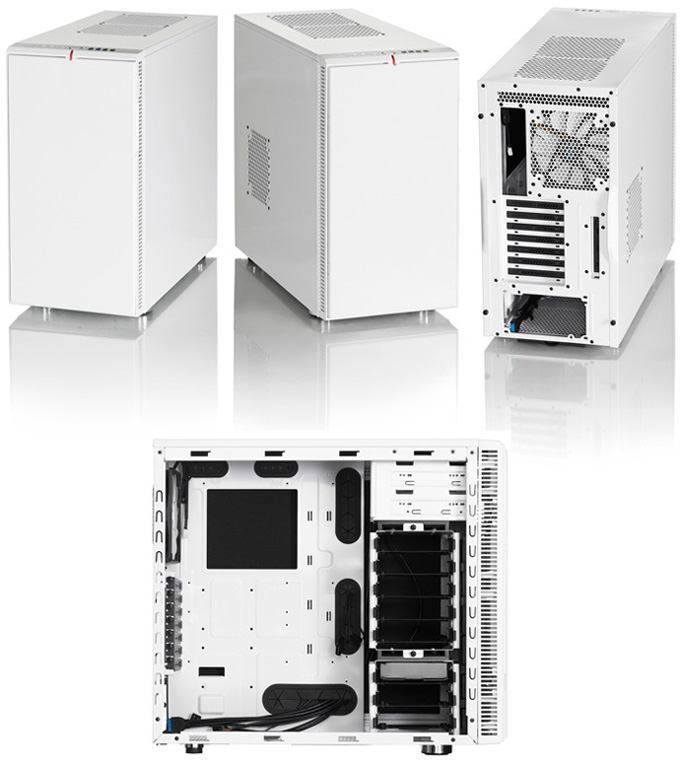 Корпус microATX Fractal Arc Mini R2 Без БП чёрный FD-CA-ARC-MINI-R2-BL-W