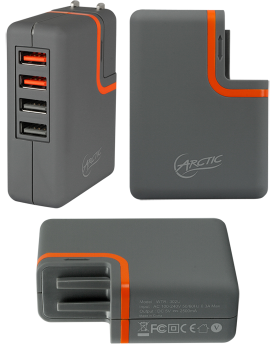 ARCTIC Charger PRO 4 Rev.2
