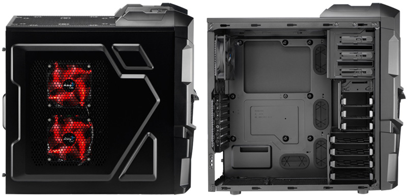 Aerocool PGS-B Series Mechatron Black Edition