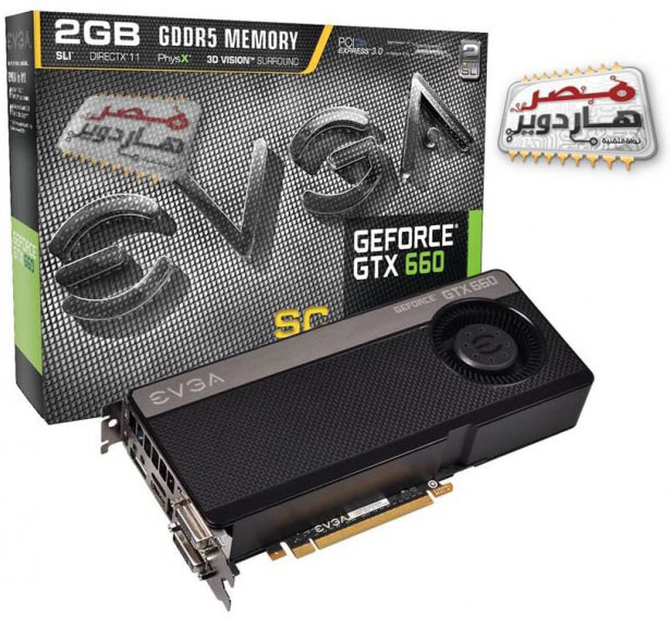 EVGA GeForce GTX 660 SC