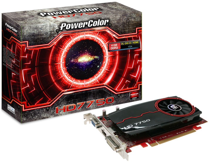 PowerColor Radeon HD 7750 4GB DDR3