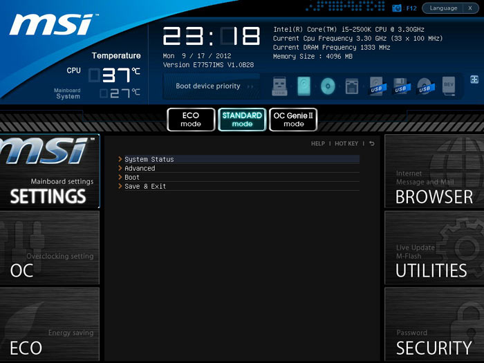 MSI Z77A-GD80 BIOS