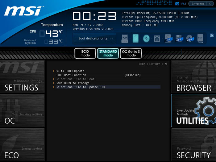 MSI Z77A-GD80 M-Flash