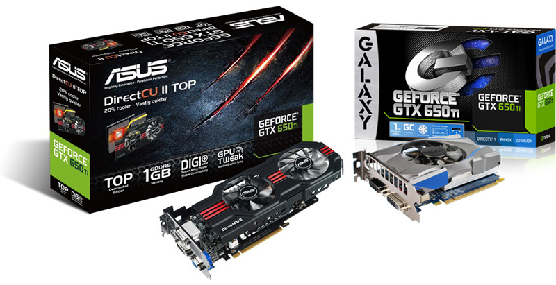 GeForce GTX 650 Ti