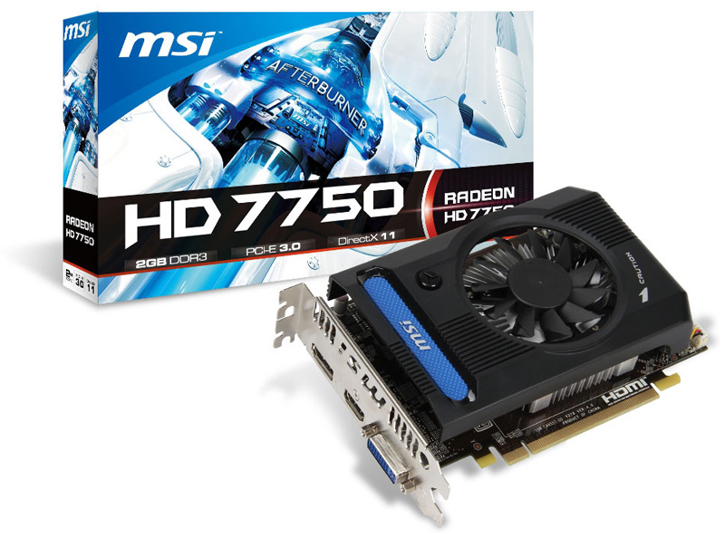 MSI R7750-PMD2GD3