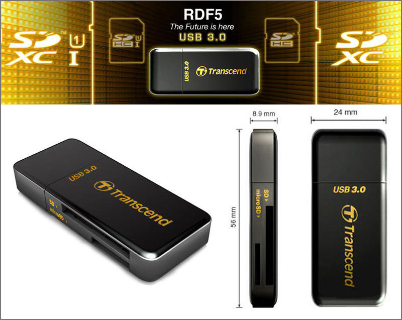 Transcend RDF5 USB 3.0 Card Reader