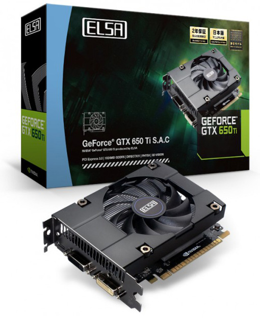 ELSA GeForce GTX 650 Ti S.A.C.