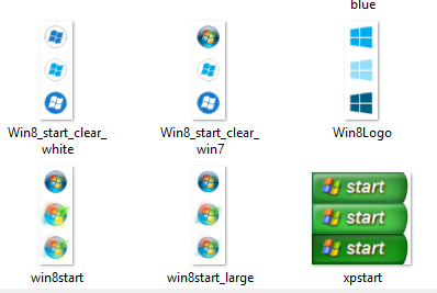 иконки кнопки пуск windows 7 скачать