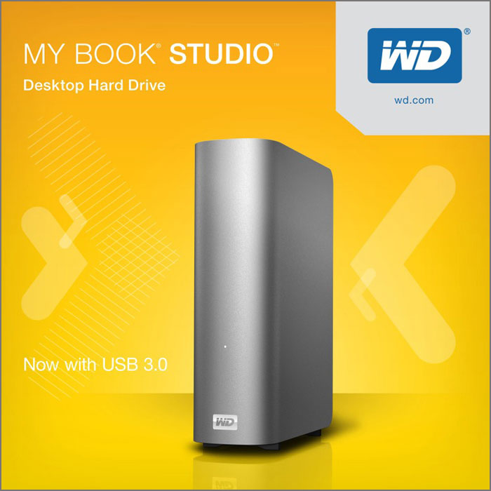 WD My Book Studio with USB 3.0
