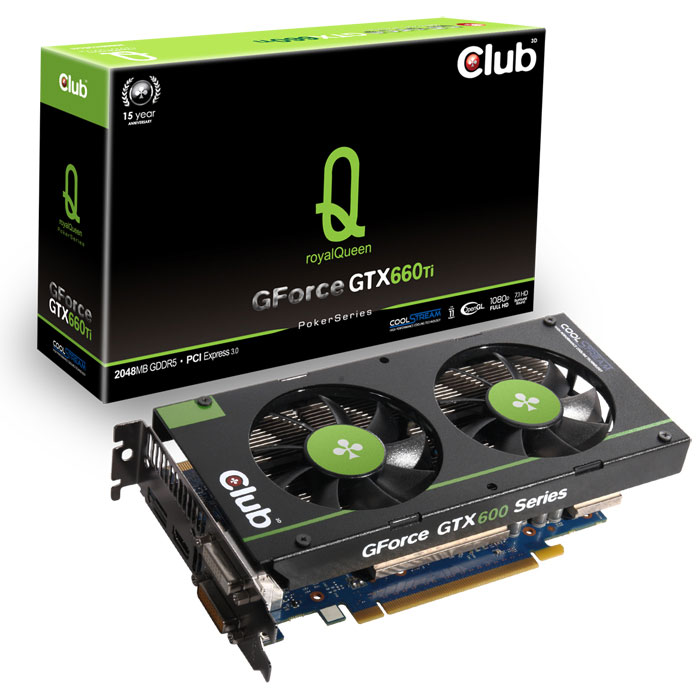 Club 3D GeForce GTX 660 Ti royalQueen