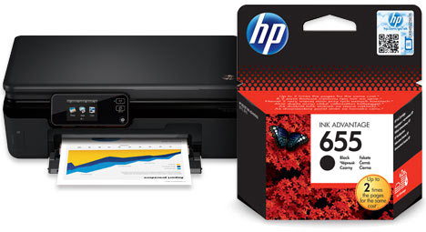 Драйвера на принтер hp deskjet ink advantage 5525
