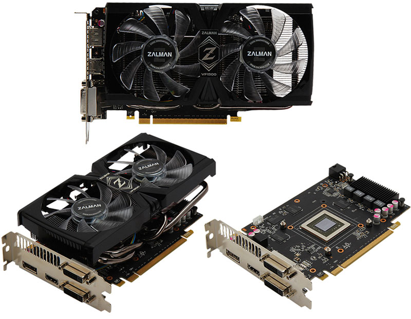 Zalman GeForce GTX 660 D5 2GB VF1500