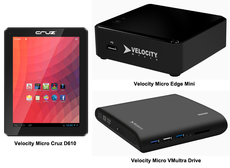 Velocity Micro New Products