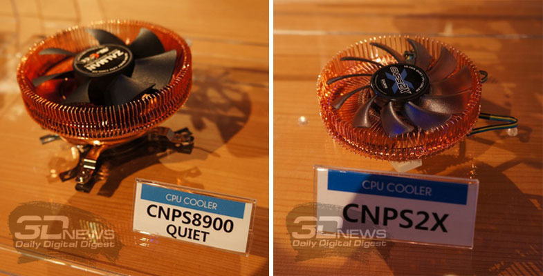Zalman CNPS8900 Quiet and Zalman CNPS2X