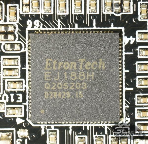 Контроллер USB 3.0 Etrontech EJ188H — обзор материнской платы ASRock Z77 OC Formula