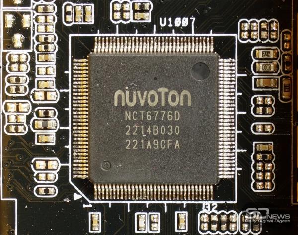 Микросхема Super I/O — обзор материнской платы ASRock Z77 OC Formula