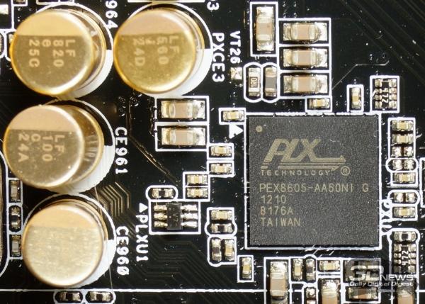 PLX PEX 8605 — обзор материнской платы ASRock Z77 OC Formula