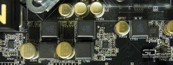 Дополнительные PWM-контроллеры преобразователя питания ЦП — обзор материнской платы ASRock Z77 OC Formula