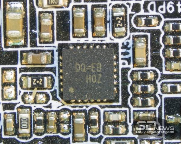 PWM-контроллер преобразователя питания оперативной памяти — обзор материнской платы ASRock Z77 OC Formula