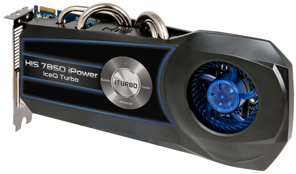 HIS Radeon HD 7850 iPower IceQ Turbo 4GB GDDR5