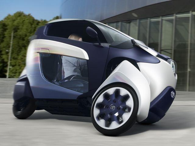 тойота. концепт кар с электродвигателем.