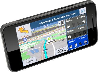 Explay внедряет навигационные службы iGO и HERE