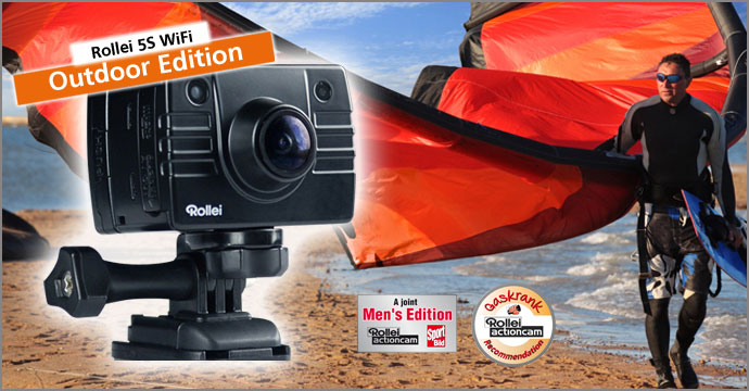 Rollei Actioncam 5S WiFi Outdoor Edition