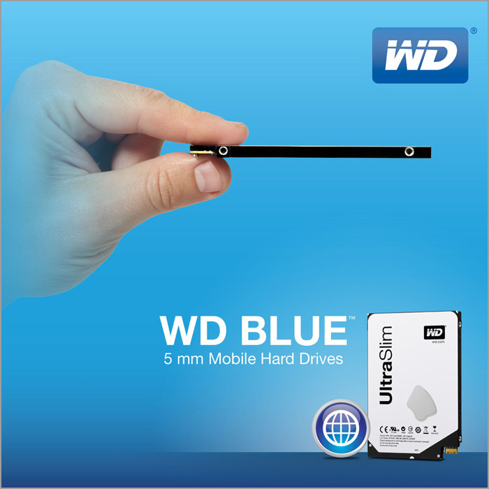 WD Blue 5 mm UltraSlim HDD