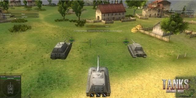 скачать игру Ground War Tanks через торрент - фото 7