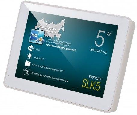 Explay SLK 5 – и навигатор, и Android-планшет