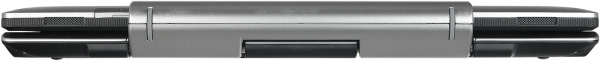 Fujitsu Stylistic Q702 с клавиатурой, вид сзади