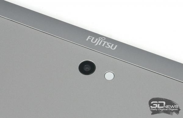 Fujitsu Stylistic Q702, задняя камера