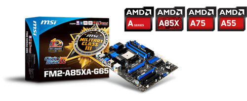 MSI FM2 Series Motherboards