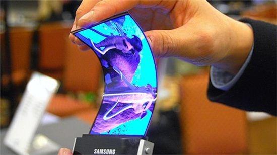 Гнучкі телефони Galaxy Round