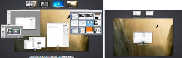 Слева расположен внешний монитор, а справа – экран ноутбука. Теперь эти два монитора больше не зависят друг от друга.