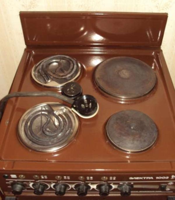 Сколько стоит электроплита мечта 4 конфорки чистка газовой плиты дарина 1401