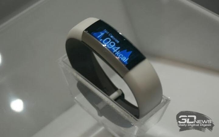 Умный браслет TCL Moveband MB12 Metal Chrome-White