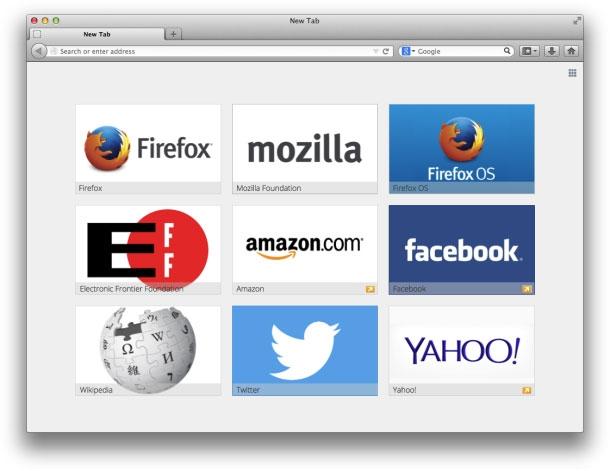 Как сделать визуальные закладки в Mozilla Firefox? 67