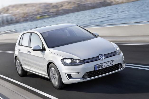 Volkswagen e-Golf фото