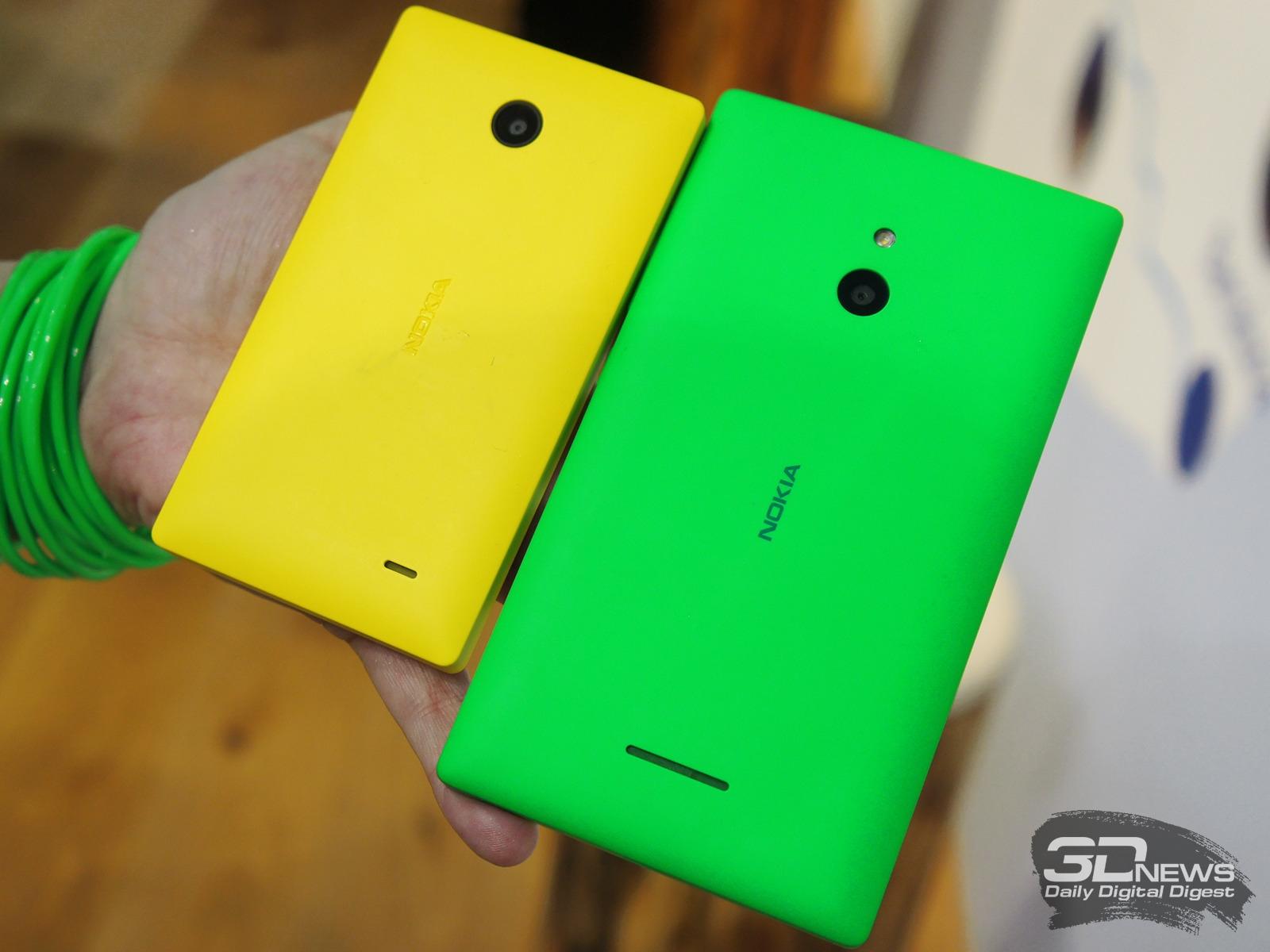 Mwc 2014 Nokia X Xl Yellow