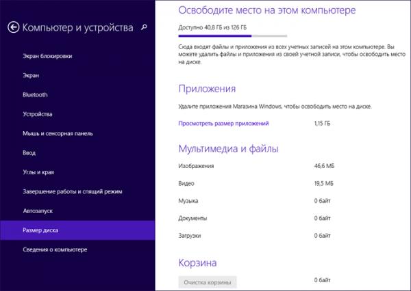 Обновленная Windows 8.1 получила усовершенствованные средства избавления от скопившегося «мусора» на диске ПК
